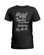 SPOILED BY MY HUSBAND Ladies T-Shirt thumbnail