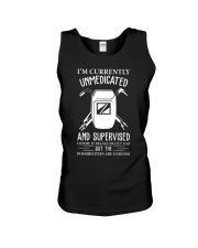 WELDERS UNMEDICATED AND SUPERVISED Unisex Tank thumbnail