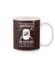 WELDERS UNMEDICATED AND SUPERVISED Mug thumbnail