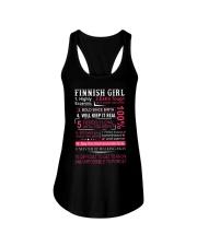FINNISH GIRL Ladies Flowy Tank thumbnail
