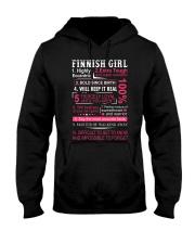 FINNISH GIRL Hooded Sweatshirt thumbnail