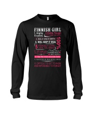 FINNISH GIRL Long Sleeve Tee thumbnail