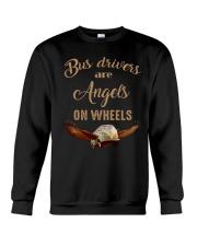 BUS DRIVERS ARE  ANGELS ON WHEELS Crewneck Sweatshirt thumbnail