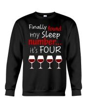 MY SLEEP NUMBER 4 CUPS Crewneck Sweatshirt thumbnail