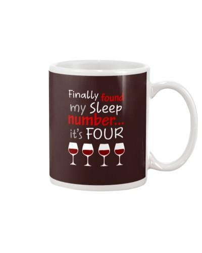 MY SLEEP NUMBER 4 CUPS