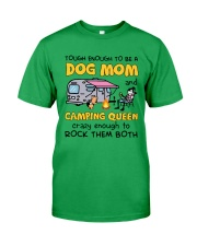 DOG MOM LOVES CAMPING Classic T-Shirt tile