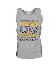 DOG MOM LOVES CAMPING Unisex Tank thumbnail