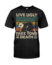 LIVE UGLY Classic T-Shirt front