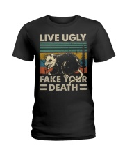 LIVE UGLY Ladies T-Shirt thumbnail