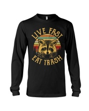 LIVE FAST EAT TRASH Long Sleeve Tee thumbnail