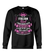 I'M AN ITALIAN GIRL Crewneck Sweatshirt thumbnail