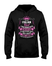 I'M AN ITALIAN GIRL Hooded Sweatshirt front
