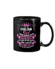 I'M AN ITALIAN GIRL Mug thumbnail