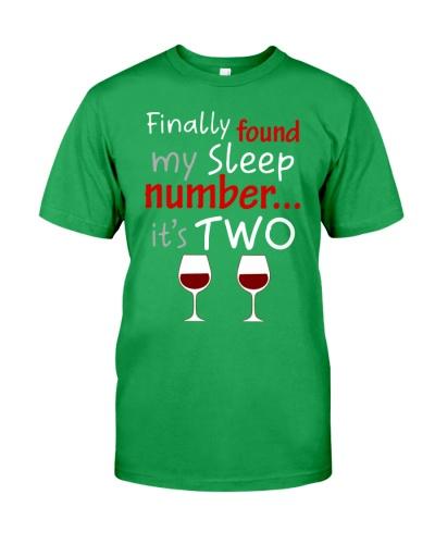 MY SLEEP NUMBER 2 CUPS
