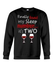 MY SLEEP NUMBER 2 CUPS Crewneck Sweatshirt thumbnail