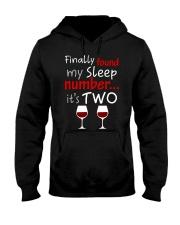 MY SLEEP NUMBER 2 CUPS Hooded Sweatshirt thumbnail