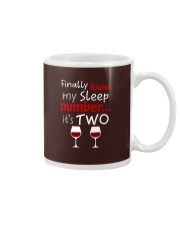 MY SLEEP NUMBER 2 CUPS Mug thumbnail