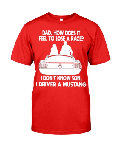 CAN'T LOSE A RACE WITH MUSTANG