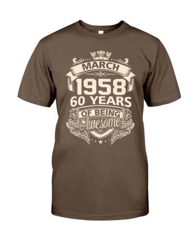 Happy Birthayday March 1958