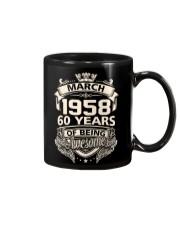 Happy Birthayday March 1958 Mug thumbnail