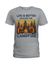 LIFE IS BETTER Ladies T-Shirt thumbnail