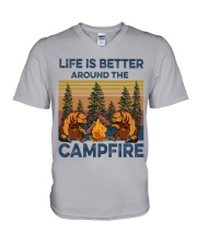 LIFE IS BETTER V-Neck T-Shirt thumbnail