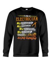 STRAIGHT ELECTRICIAN Crewneck Sweatshirt thumbnail
