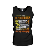 STRAIGHT ELECTRICIAN Unisex Tank thumbnail