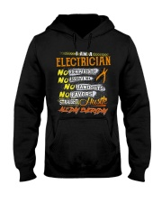 STRAIGHT ELECTRICIAN Hooded Sweatshirt thumbnail