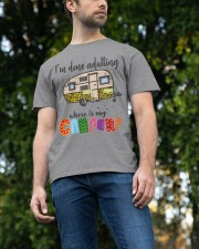 WHERE IS MY CAMPER Classic T-Shirt apparel-classic-tshirt-lifestyle-front-47