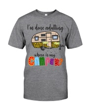WHERE IS MY CAMPER Classic T-Shirt front