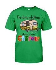 WHERE IS MY CAMPER Classic T-Shirt tile