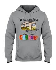 WHERE IS MY CAMPER Hooded Sweatshirt thumbnail