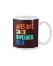 AWESOME SINCE NOVEMBER 1958 Mug thumbnail