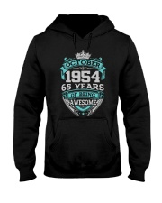 Birthday Gift October 1954 Hooded Sweatshirt thumbnail