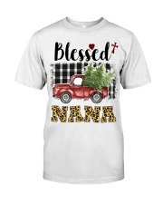 BLESSED NANA Classic T-Shirt front