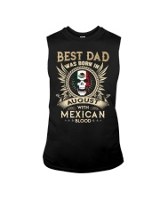 BEST DAD WAS BORN IN AUGUST Sleeveless Tee thumbnail