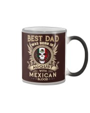 BEST DAD WAS BORN IN AUGUST Color Changing Mug thumbnail