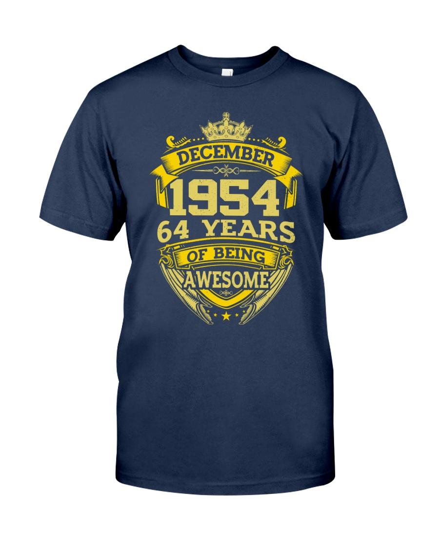 BIRTHDAY GIFT DEC 1954 Classic T-Shirt