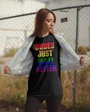 JUST TASTE BETTER Classic T-Shirt apparel-classic-tshirt-lifestyle-07