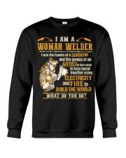 I'M A WOMAN WELDER  Crewneck Sweatshirt thumbnail