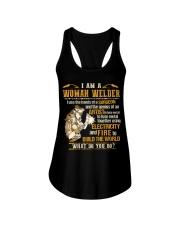 I'M A WOMAN WELDER  Ladies Flowy Tank thumbnail