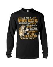 I'M A WOMAN WELDER  Long Sleeve Tee thumbnail