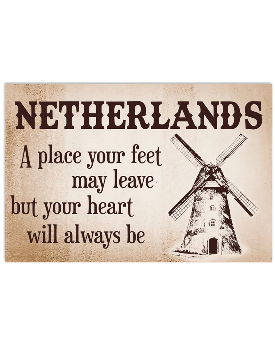 NETHERLANDS 24x16 Poster