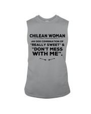 DON'T MESS WITH CHILEAN WOMAN Sleeveless Tee thumbnail