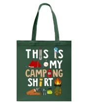 MY CAMPING SHIRT Tote Bag thumbnail
