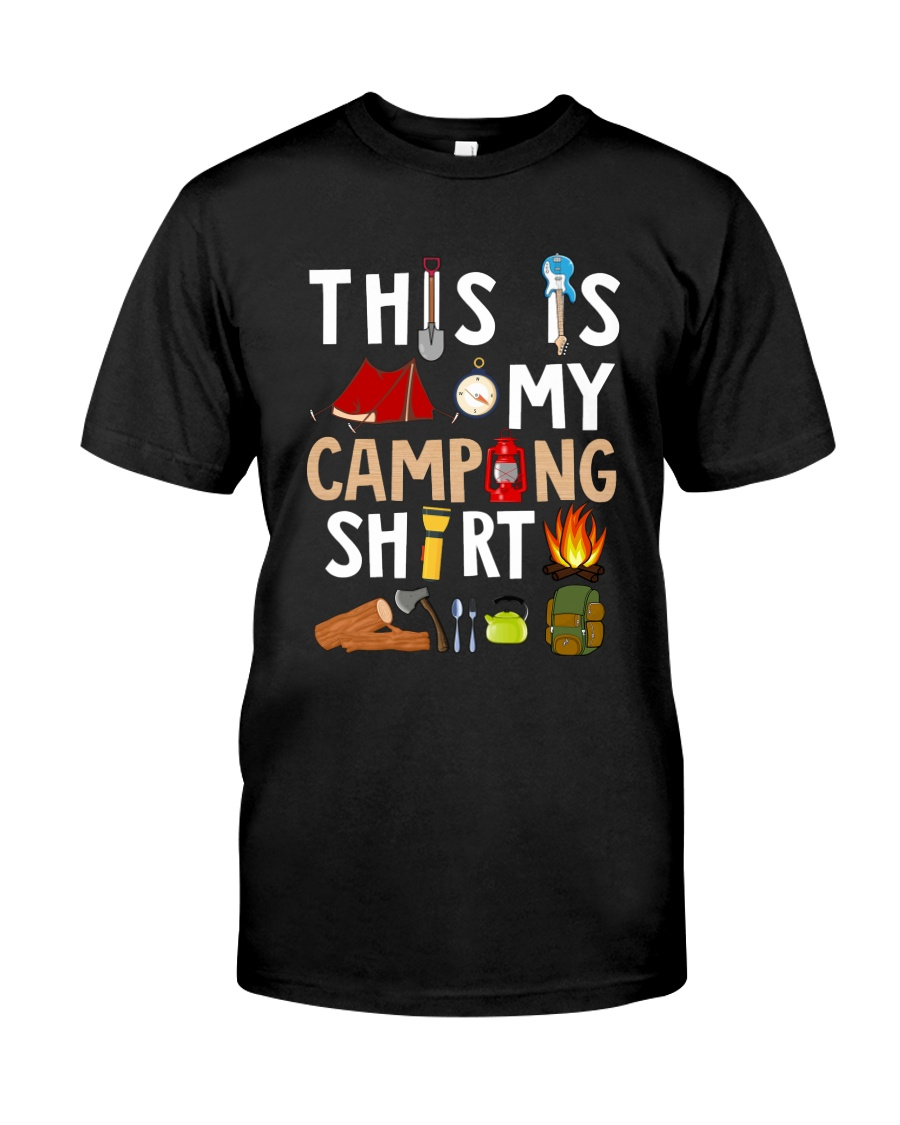 MY CAMPING SHIRT Classic T-Shirt