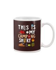 MY CAMPING SHIRT Mug thumbnail