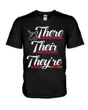 Funny Bartender V-Neck T-Shirt thumbnail