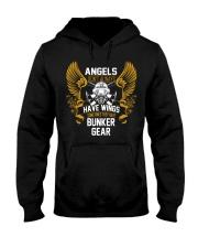 ANGELS WEAR BUNKER GEAR Hooded Sweatshirt thumbnail